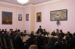 Прошло заседание  Педагогического совета Харьковской Духовной Семинарии
