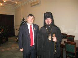 Губернатор Харківської області відзначений Церковною Нагородою