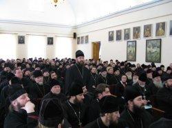 Годовое собрание духовенства Харьковской епархии