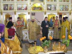 Освящен Свято-Покровский храм пос. Купянск-Узловой г. Купянска