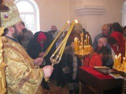 Освящение храма в честь великомученика  и целителя Пантелеимона с. Червоная Хвыля  Великобурлуцкого р-на