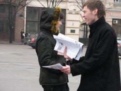 """В Харькове состоялась """"Свечная акция"""" в поддержку детей, больных раком."""
