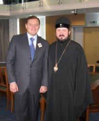 Состоялась встреча с мэром г. Харькова Михаилом Добкиным