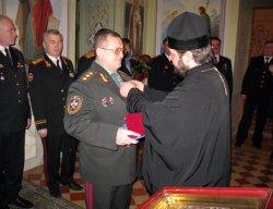Генерал реестрового казачества отмечен Церковной наградой