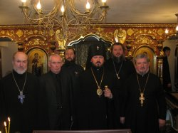 Неделя 5-я Великого поста.   Освящен храм в 5-й ЦКБ Харькова