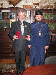 Директор Харьковской областной филармонии отмечен церковной наградой