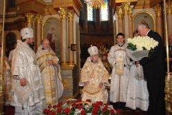 Тезоименитство митрополита Никодима