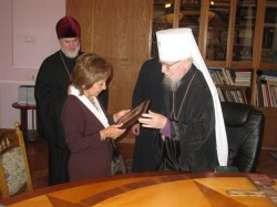 Митрополит Никодим встретился с послом Аргентины