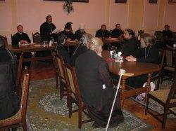 Заседание Педагогического совета Харьковской Духовной Семинарии