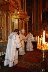 Неделя 7-я по Пасхе, память святых отцов семи Вселенских Соборов