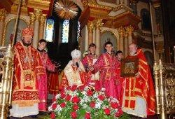 День тезоименитства викария Харьковской епархии архиепископа Изюмского Онуфрия