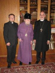 Митрополит Никодим встретился с представителями Немецкой Лютеранской церкви