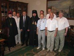 Церковь поздравила с 80-летием Илью Ивановича Залюбовского, члена-корреспондента НАН Украины