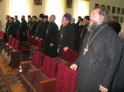 Собрание благочинных и настоятелей г. Харькова