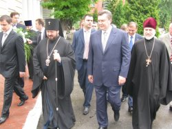 Митрополит Никодим встретился с Виктором Федоровичем Януковичем