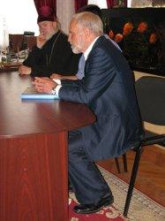 Викарий Харьковской епархии архиепископ Изюмский Онуфрий встретился с известным кинематографистом Анатолием Заболоцким