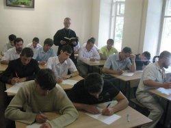 Прошли вступительные экзамены в Харьковскую Духовную Семинарию