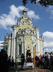 У храма иконы Божией Матери «Взыскание погибших» г Харькова будет построена колокольня