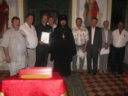 Церковными грамотами награждены харьковские чернобыльцы