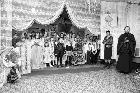 Рождественский праздник в селе Просяное