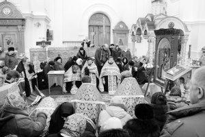 Чудотворный список Песчанской иконы Божией Матери посетил древний Полоцк