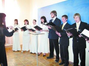 Рождественские песнопения  в Харьковском университете