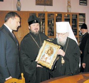 Состоялась встреча митрополита Никодима с новым губернатором Харьковской области