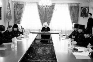 открытие заседания Комиссии Межсоборного присутствия