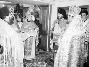 Архиепископ Онуфрий посетил 5-ю городскую клиническую больницу г. Харькова