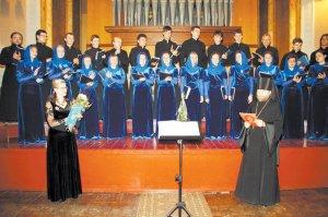 Юбилейный концерт хора  Свято-Покровского монастыря