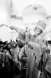 Святейший Патриарх Кирилл совершил освящение Спасо-Преображенского кафедрального собора Одессы и возглавил Божественную литургию в новоосвященном храме