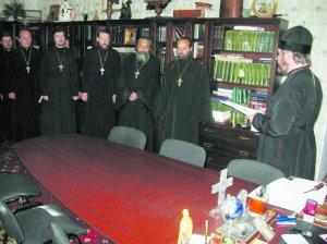 Священники епархiї призначенi для пастирської опiки в мiсцях позбавлення волi
