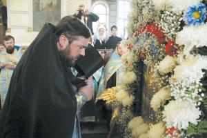 Крестный ход с Озерянской иконой