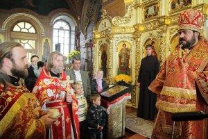 30-летие Свято-Димитриевского храма поселка Васищево
