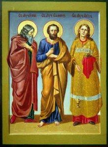 28 ноября — память святых мучеников Гурия, Самона и Авива