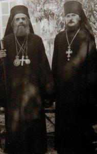 Несение священнической чреды на Святой Земле и во Святом Граде Иерусалиме 1958-1961