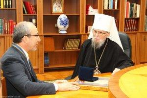 Відзнакою Предстоятеля УПЦ нагороджений Харківській міській голова