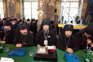 В Соборе УПЦ приняли участие представители Харьковской епархии