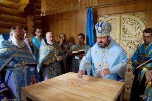 В Саржином Яру открылся  духовный источник