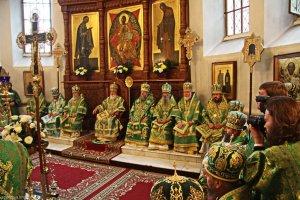 Архиепископ Онуфрий принял участие в торжествах в Святогорской Лавре