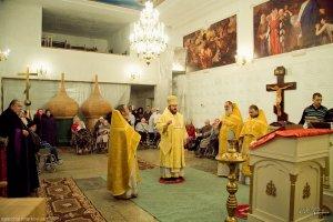 При харьковском хосписе обновлен храм