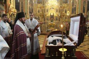 Архиепископ Онуфрий совершил отпевание героя Украины В.В. Сташиса