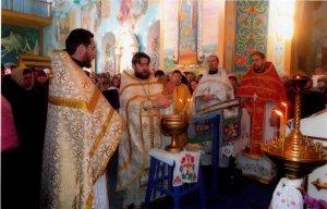 Престольне свято у Свято-Архангело-Михайлівському храмі смт. Краснокутськ
