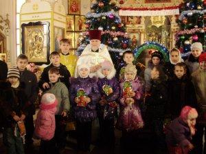 На Різдво у Свято - Преображенському храмі