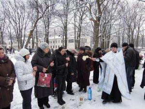 Крещение в храме святого благоверного князя Олега Брянского