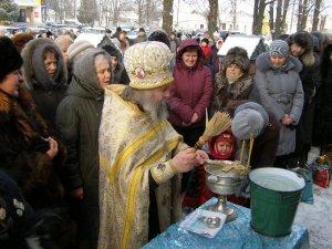 Освячення води в Кегичівці
