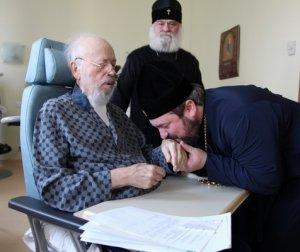 Архієпископ Ізюмський Онуфрій відвідав Блаженнішого Митрополита Володимира