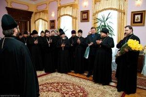 День Рождения Архиепископа Изюмского Онуфрия