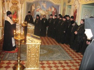 Архиепископ Онуфрий вручил награды священнослужителям
