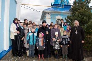 Визит архипастыря  в Большую Даниловку